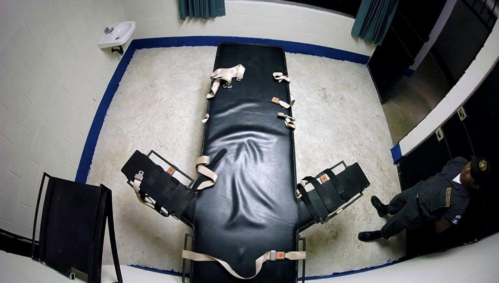 Lugar donde aplican la inyección letal a los condenados a muerte.