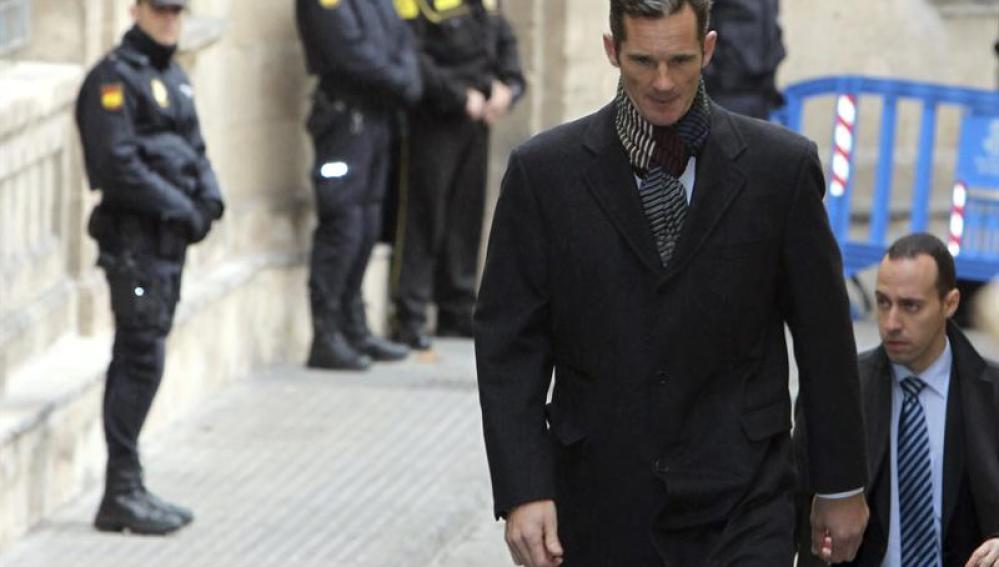 Iñaki Urdangarin, duque de Palma.