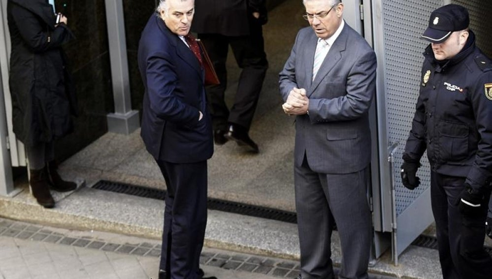 El extesorero del PP, Luis Bárcenas, a su llegada a la Audiencia Nacional