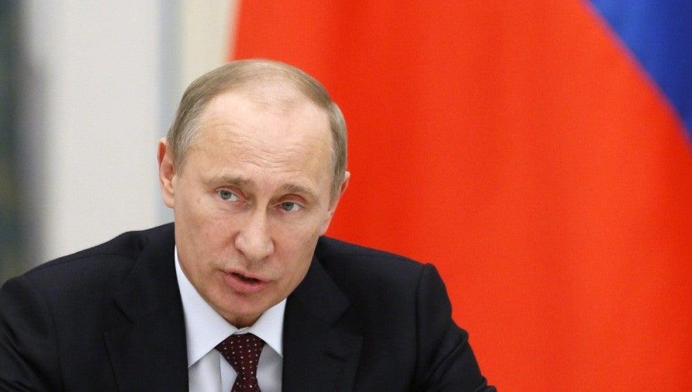 El presidente ruso, Vládimir Putin