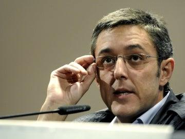 Eduardo Madina, secretario general del PSOE en el Congreso