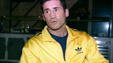 El exboxeador Poli Díaz