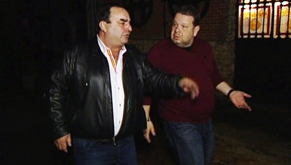 Chicote discute con Cristóbal