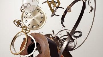 Reloj explotando