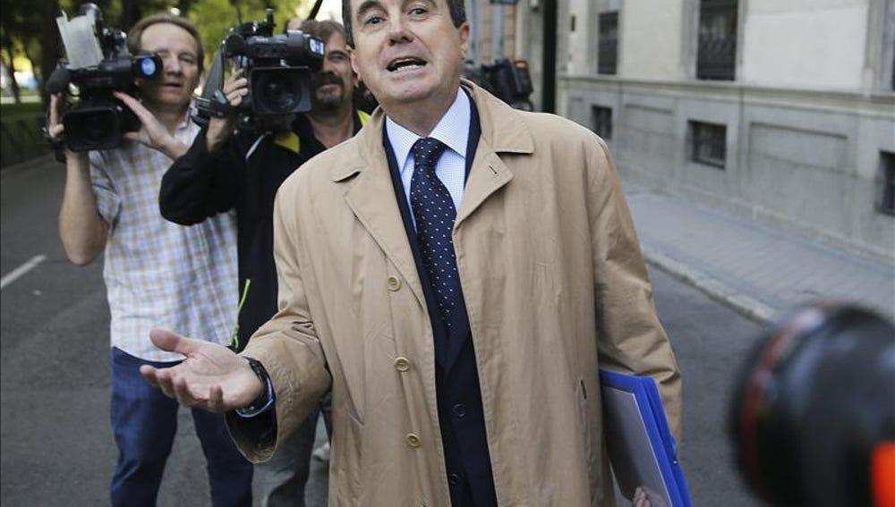 Jaume Matas tras su declaración