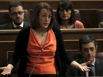 La portavoz del PSOE en el Congreso, Soraya Rodríguez