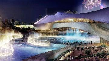 Recreación del proyecto futuro del complejo Eurovegas en Alcorcón