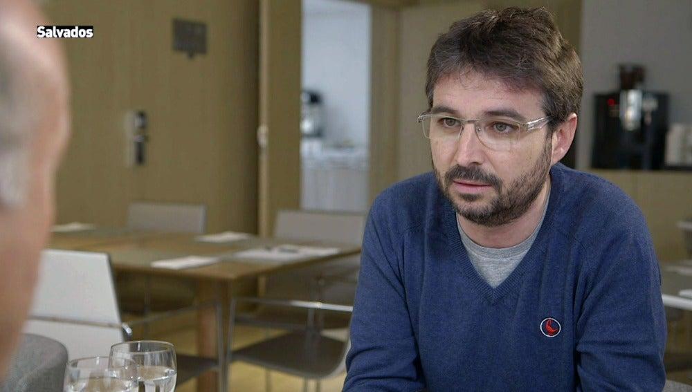 Jordi Évole en el último Salvados