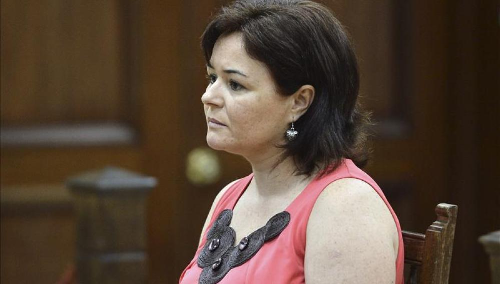 Ruth Ortiz, madre de los dos menores desaparecidos en octubre de 2011