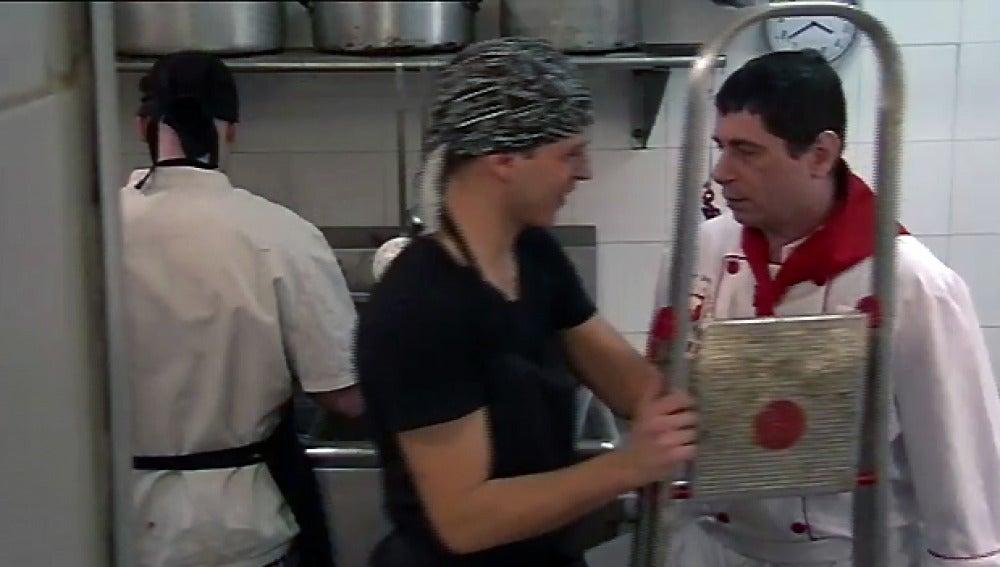 Giuliano ordena que limpien el local
