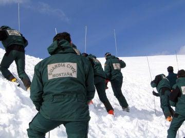 GREIM, Grupo de rescate e intervención en montaña en una imagen de archivo.