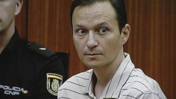 José Bretón en la novena sesión del juicio