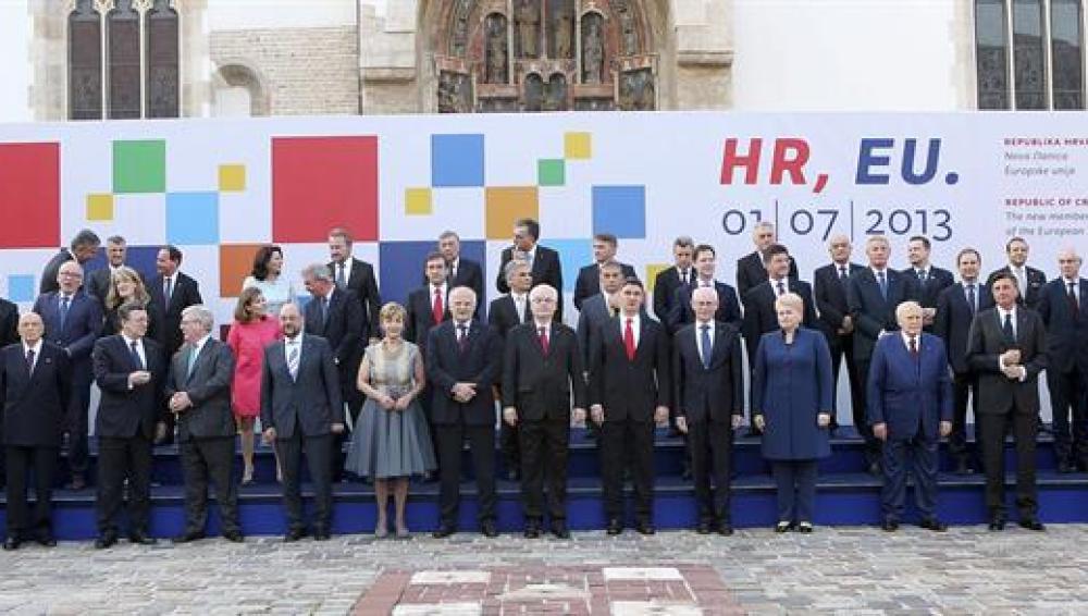 Celebración de la incorporación de Croacia a la UE