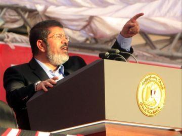 Mohamed Mursi se dirige al pueblo
