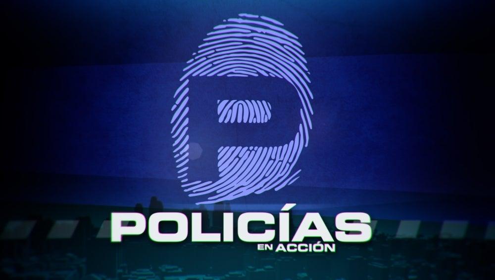 Logo Policías en acción