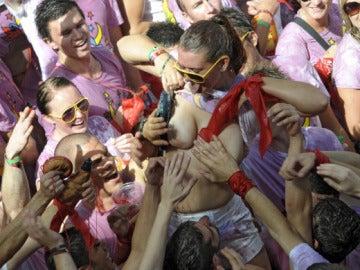 Posibles abusos a las mujeres en San Fermín