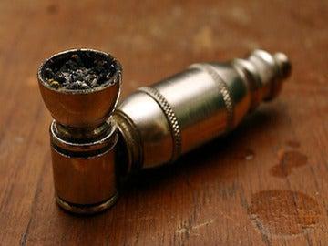 Una pipa de marihuana