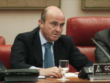 El ministro de Economía, Luis de Guindos,