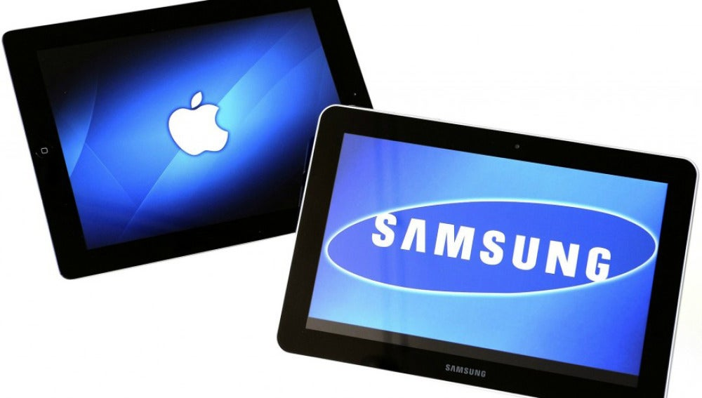 Tabletas de Apple y Samsung