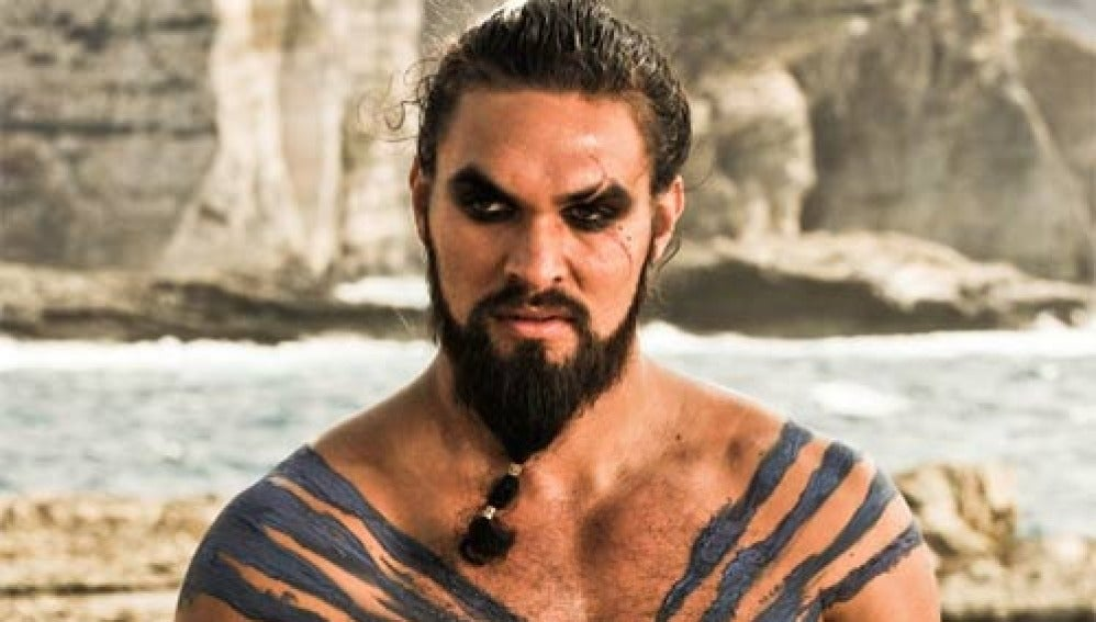 Jason Momoa como Khal Drogo ('Juego de Tronos')