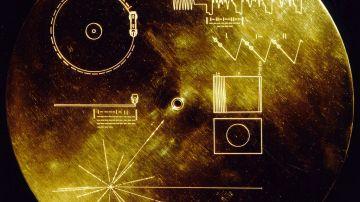 Cubierta del disco de las Voyager