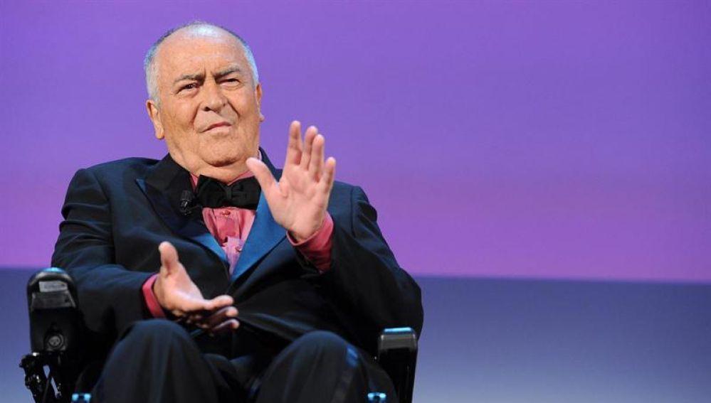 El director de cine Bernardo Bertolucci