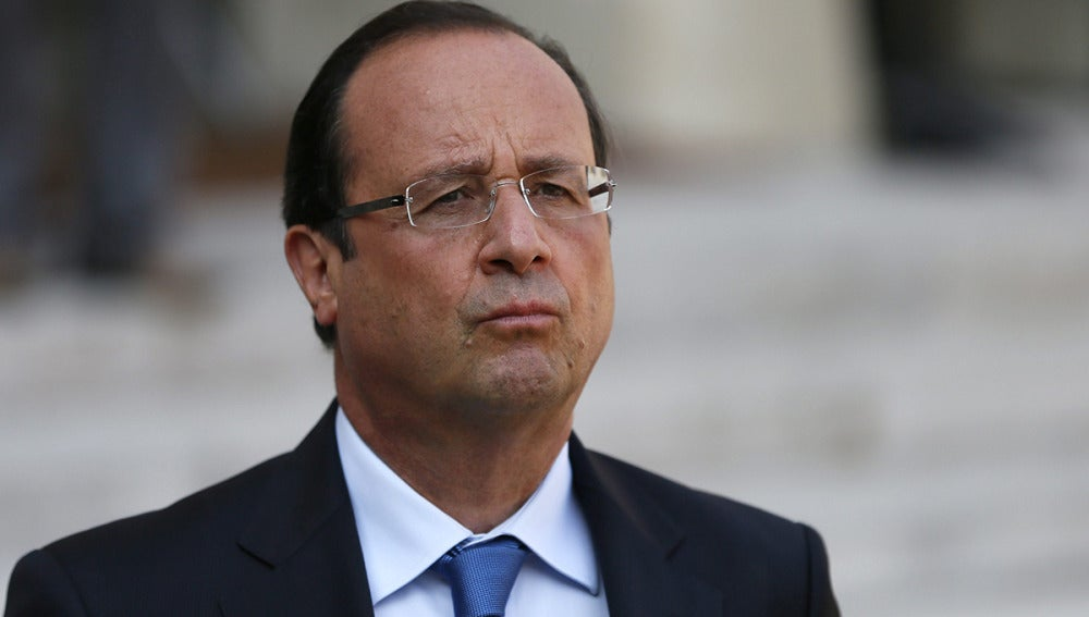 El presidente francés, François Hollande