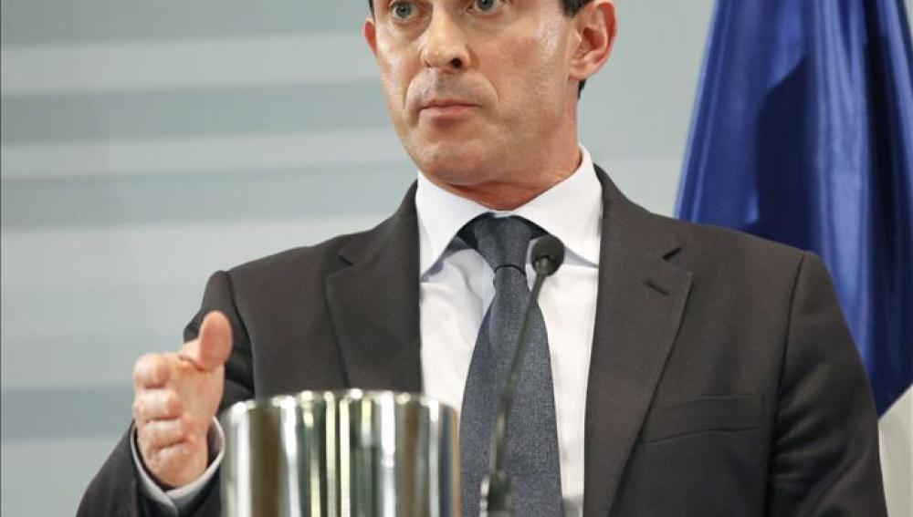 El ministro francés del Interior, Manuel Valls.