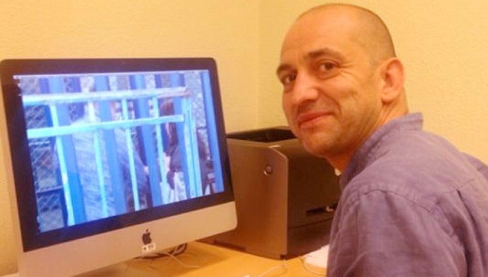 Jorge Vacárcel, realizador de 'Encarcelados'