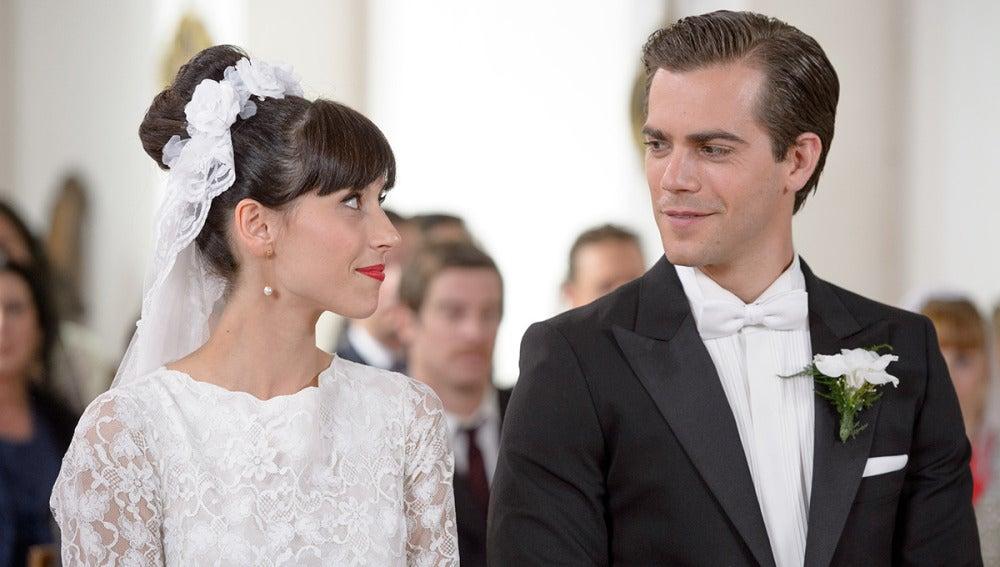 Inés y Mauro muy felices