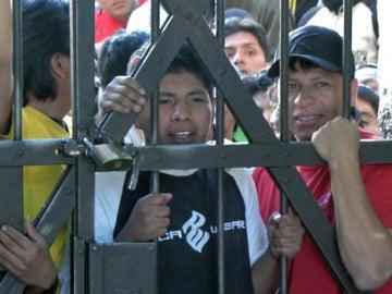 Presos en una cárcel de Bolivia