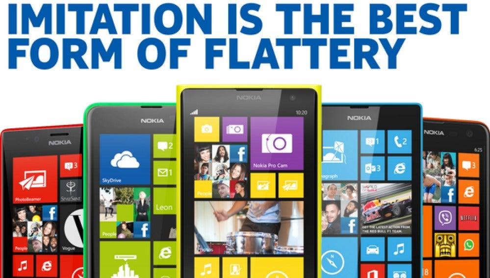 Nokia se burla de Apple