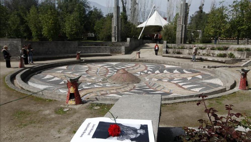 Vista general del antiguo centro de tortura de Villa Grimaldi