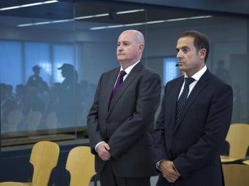 Enrique Pamiés y José María Ballesteros, acusados de colaborar con ETA.