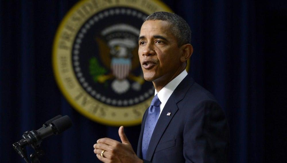 El presidente de Estados Unidos Barack Obama.