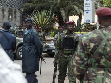 Militares en Kenia