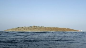 Imagen de la isla emergida
