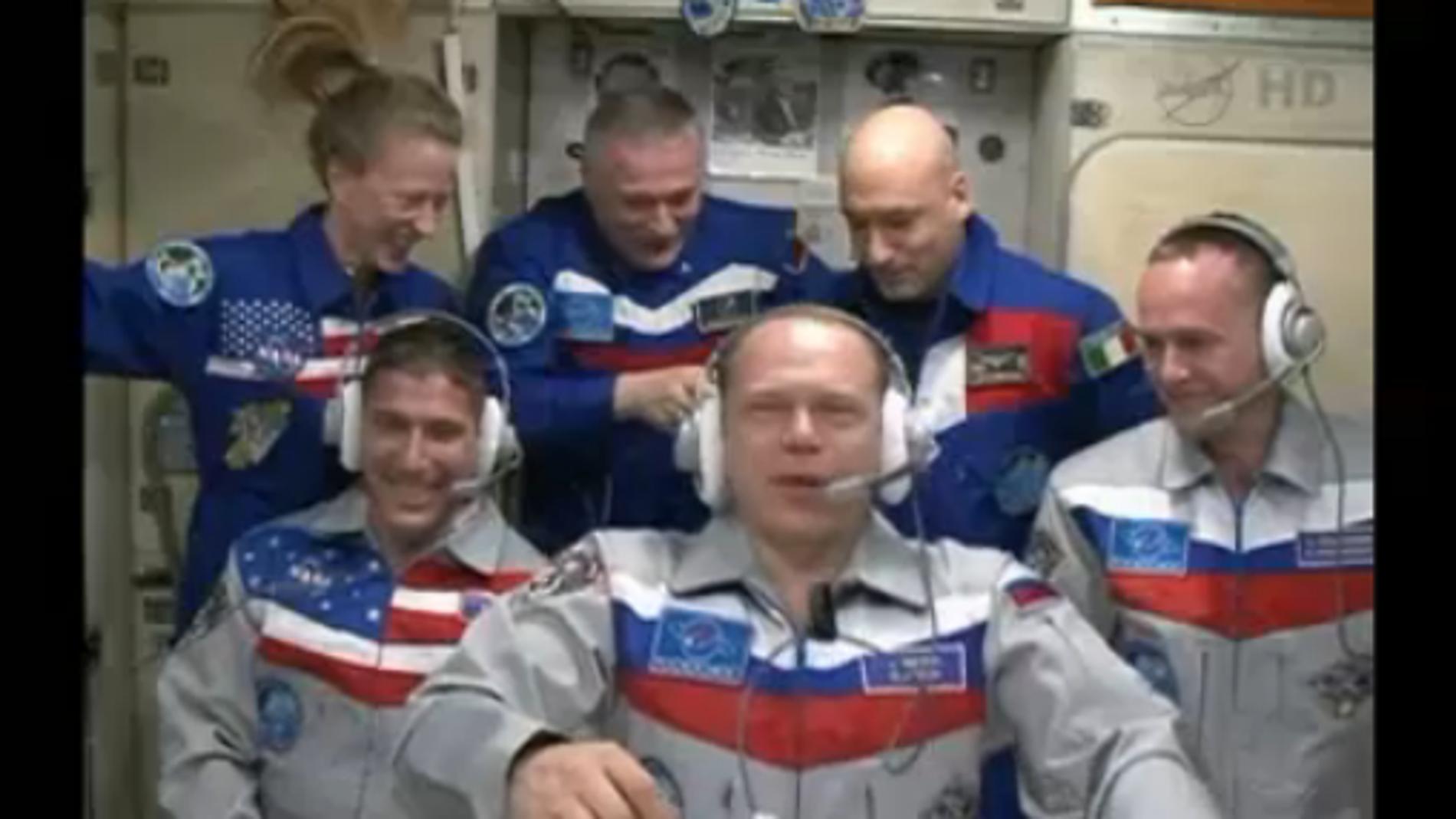 Relevo en la Estación Espacial Internacional