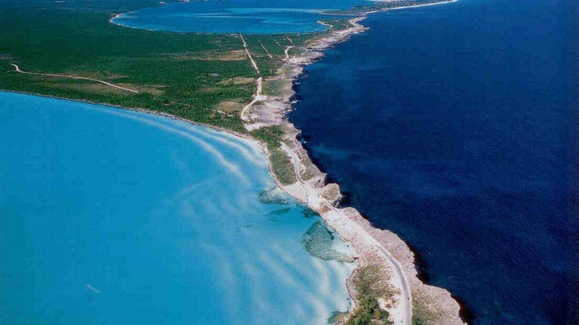 Encuentro entre el Oceano Atlántico y el Mar Caribe