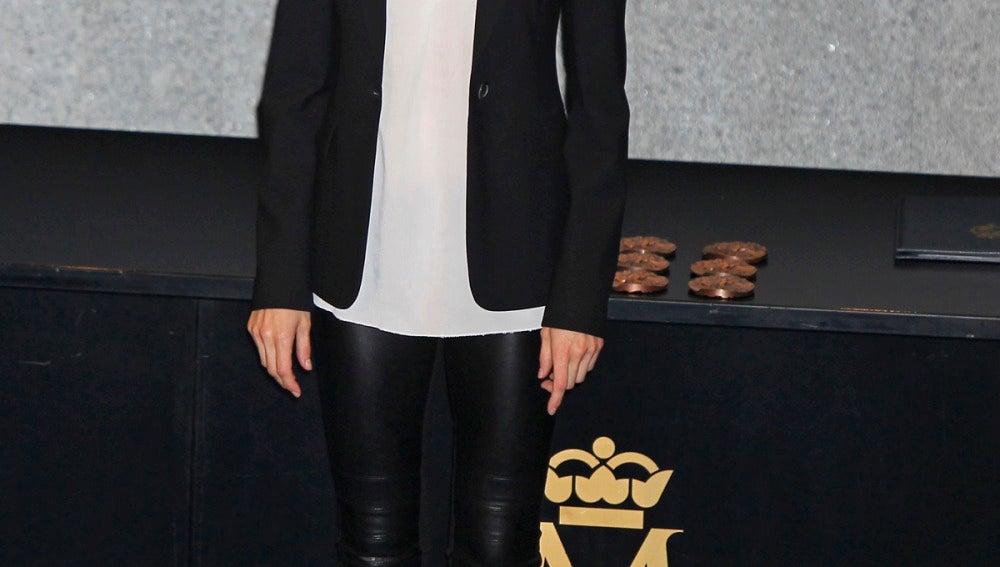 El look rockero de la princesa Letizia