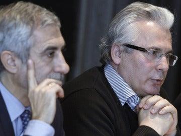 Gaspar Llamazares y Baltasar Garzón