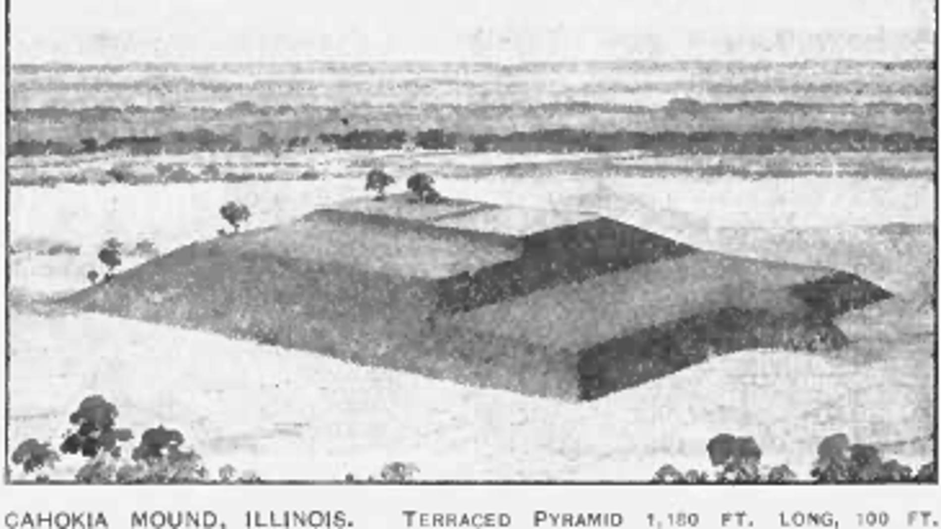 Túmulo en Cahokia