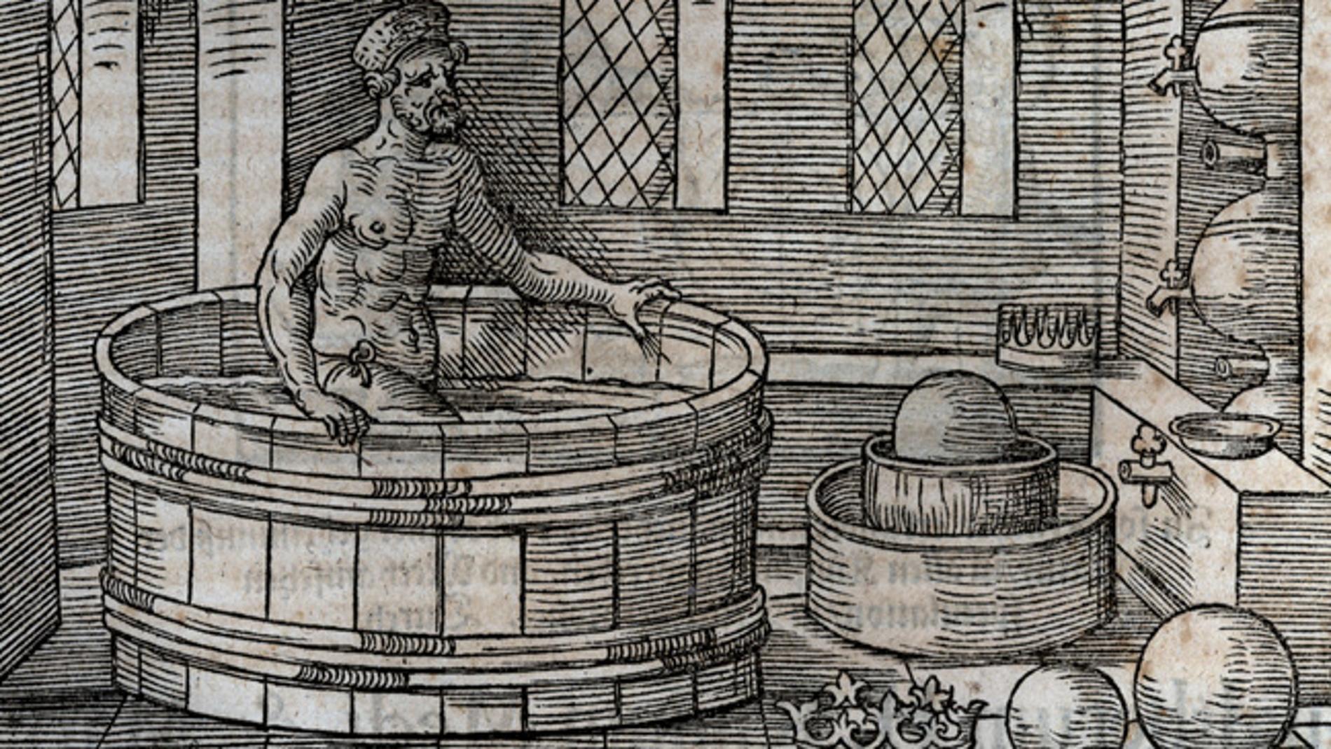 Arquímedes sufriendo el primer ataque de serendipia de la historia
