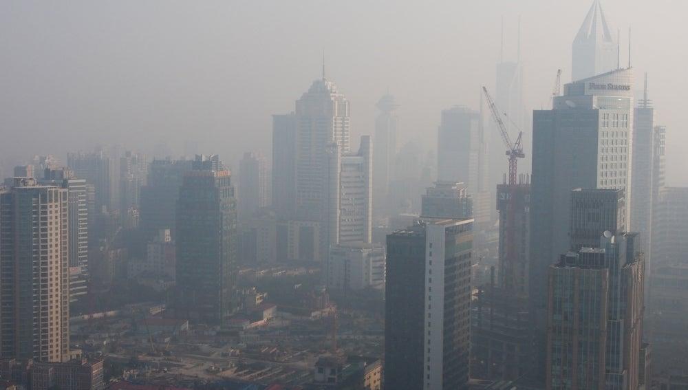 La contaminación se come Shanghái (07-11-2013)