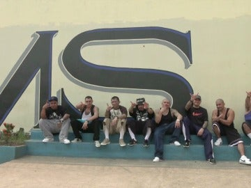 Pandilleros El Salvador