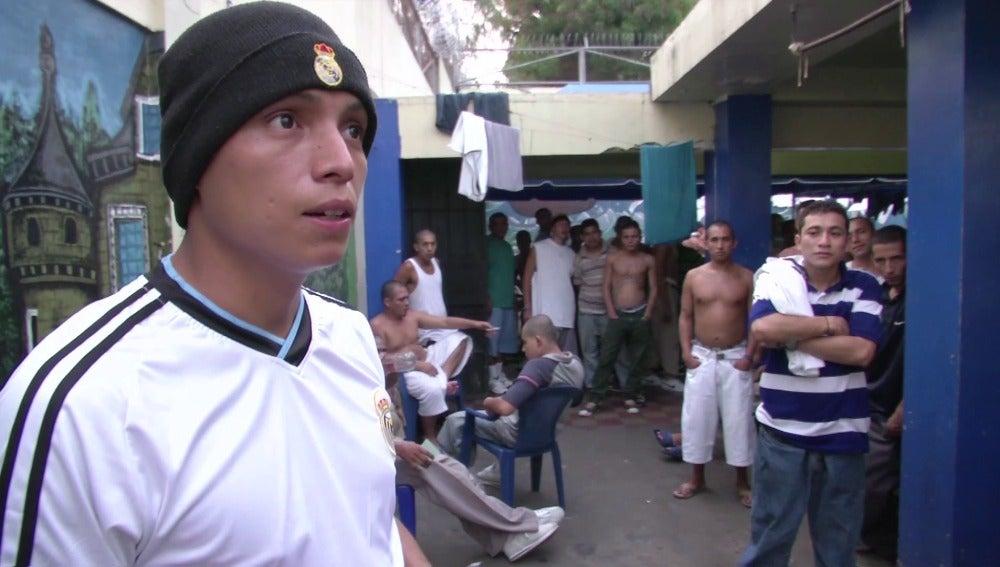 Preso en El Salvador