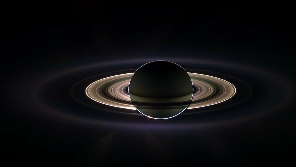 El planeta Saturno visto desde la Tierra era para los romanos el dios de la agricultura