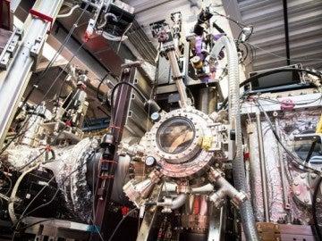 La máquina de SLAC especializada en experimentos de cristalografía con láseres de rayos X