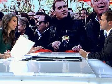 """Albert Rivera: """"Si Rosa Díez rectifica y quiere sumar fuerzas, le tenderemos la mano"""""""