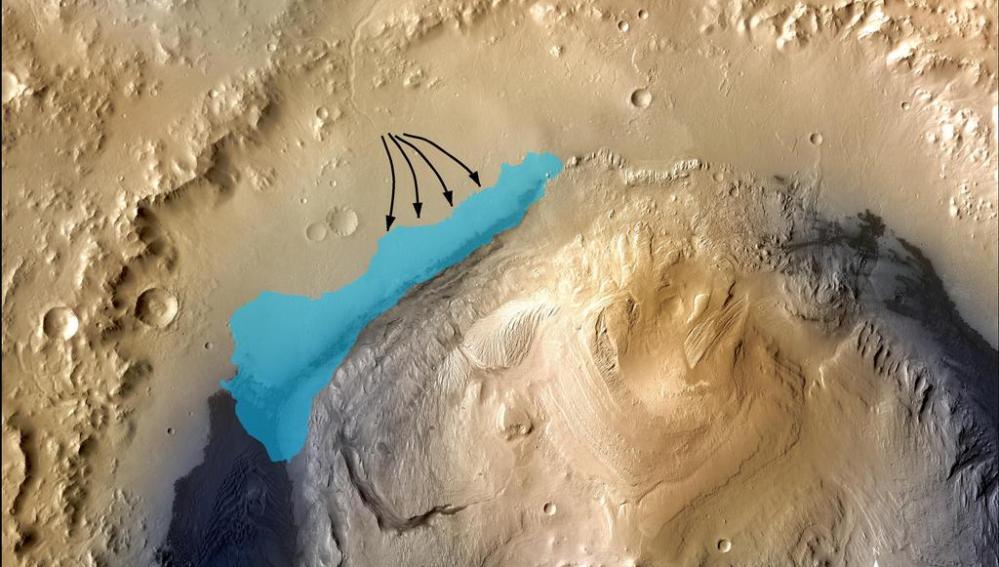 Cráter Gale, Yelloknife Bay, Marte